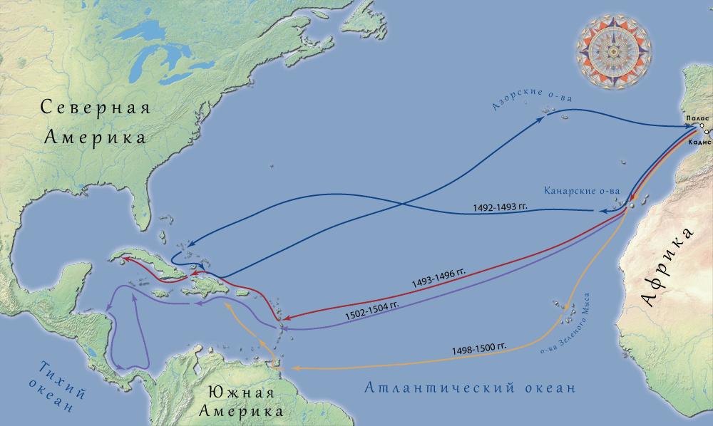 Плавания Христофора Колумба
